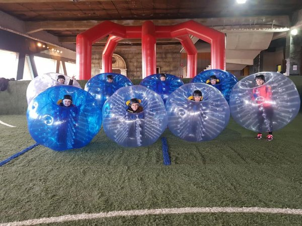 Bubble Football en Salamanca